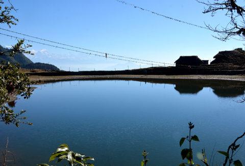 बागलुङको जैमिनी नगरपालिका–२ दमेकस्थित पर्यटकीय गाजाको दह